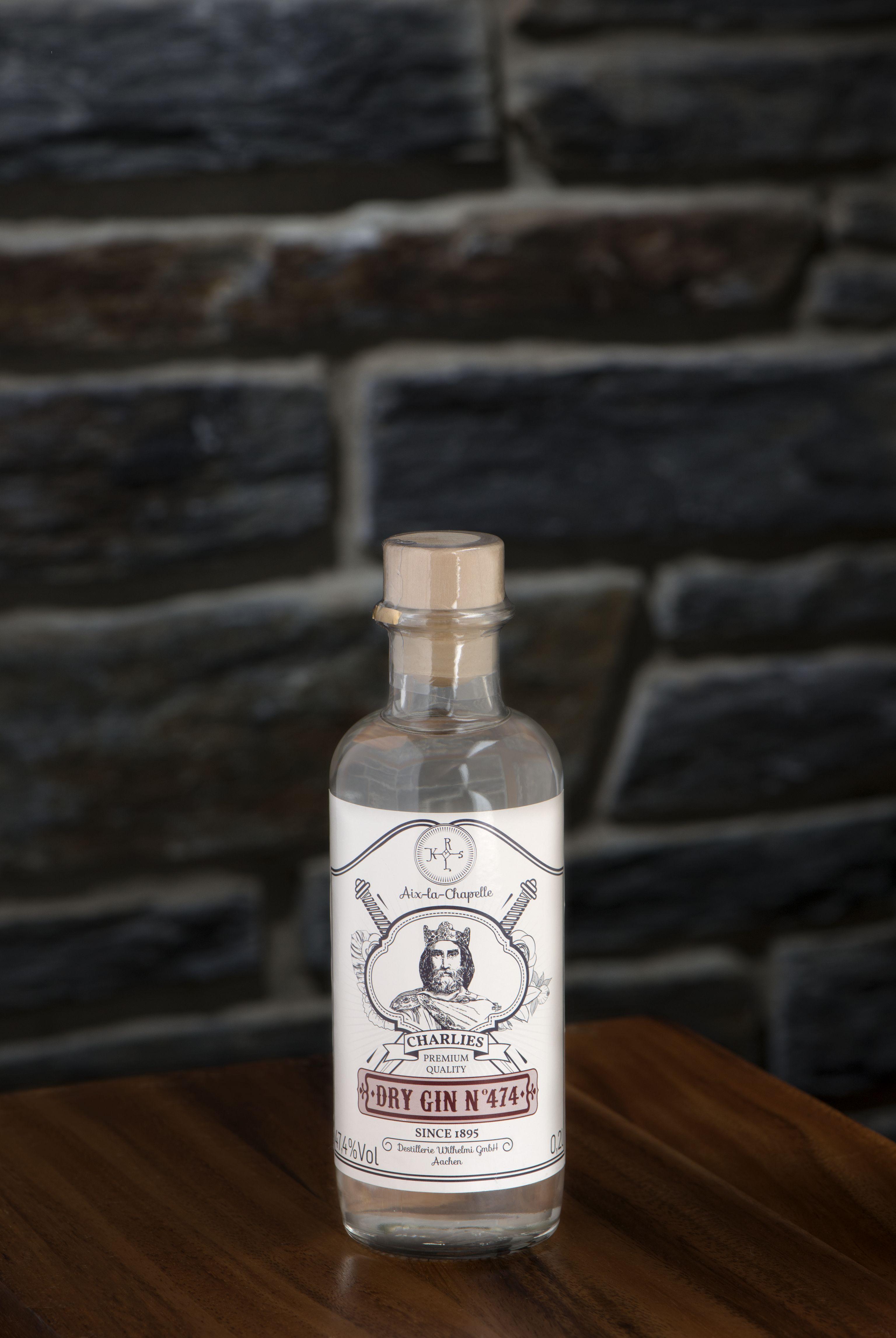 Charlies Dry Gin no. 474 40% - Historische Senfmühle Monschau -